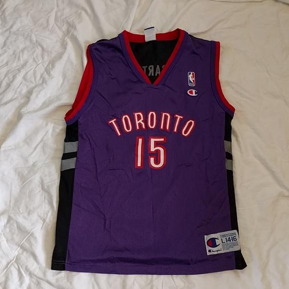 best service 58b13 cad5a NBA Toronto basketball jersey Vince carter