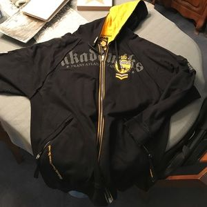 Akademiks Other - Akademiks hoody black yellow