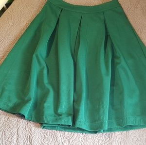 Miss Finch  Dresses & Skirts - Kelly green full midi skirt