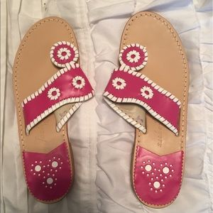 Shoes - Hot Pink Jack Rogers