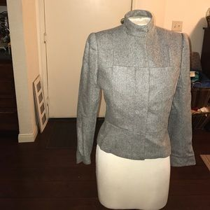 Alexander McQueen 💯 % Cashmere herringbone jacket