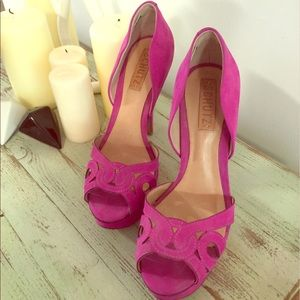 Schultz Shoes - Never worn Shultz pink high heels