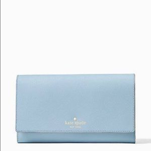 Travel Organizer & Clutch Wallet - Arctic Sky