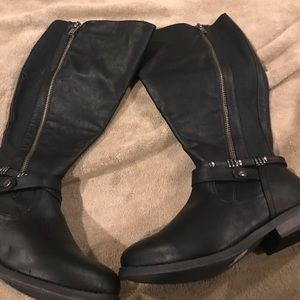 Lane Bryant Wide calf wide width boots