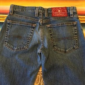 LUCKY BRAND Denim Jeans•Size 2 Mid Rise Flare Reg