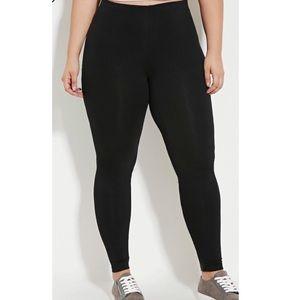 Forever 21 black leggings NWOT