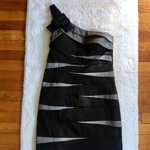 Betsy & Adam Dresses & Skirts - Betsey & Adam One Shoulder Cocktail Dress
