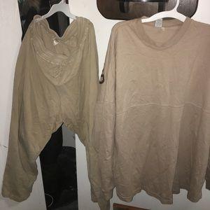 Other - Plus size cotton set