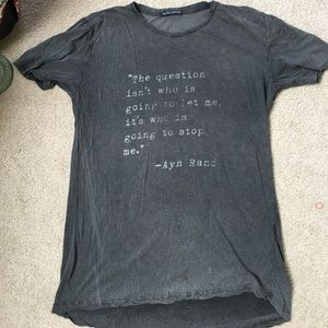 Brandy Melville Tops - Brandy Melville Quote tshirt