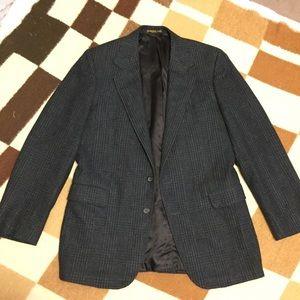 Hickey Freeman Other - Hickey Freeman green plaid wool sport coat