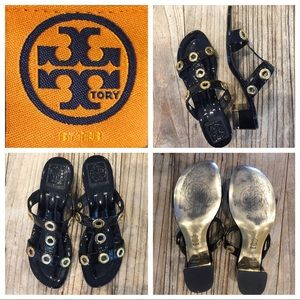 Tory Burch Shoes - Tory Burch patent leather slides size 8.5