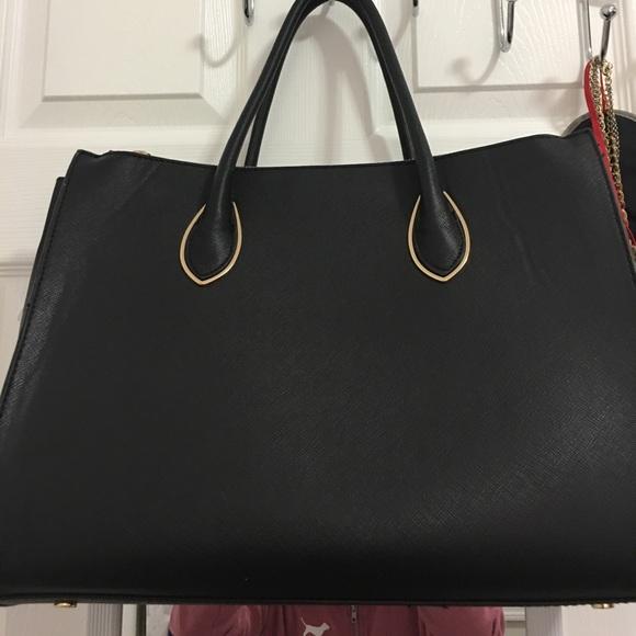 H M Bags   Hm Double Zipper Bag   Poshmark b90bc0271c