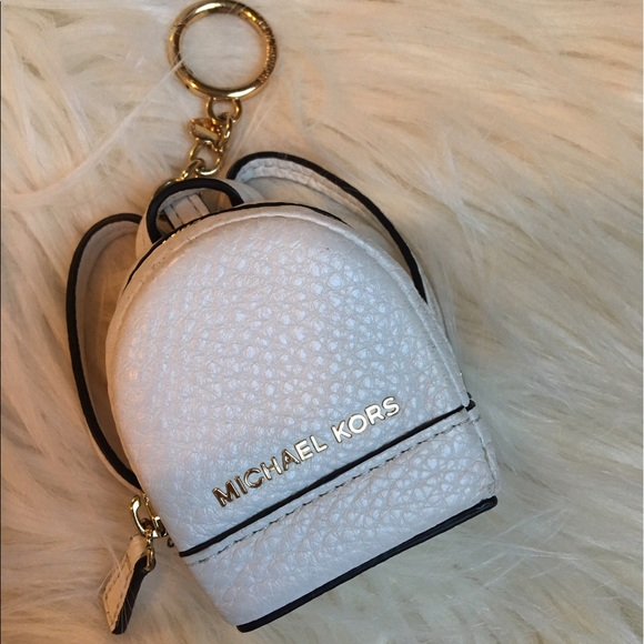 563918975c Michael Kors Coin Purse Mini Backpack Keychain. M 5918e17b41b4e036fb01d276