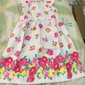 Other - Flowered toddler dress