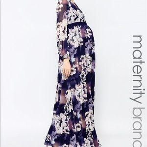 Little Mistress Dresses & Skirts - Little mistress floral maternity dress