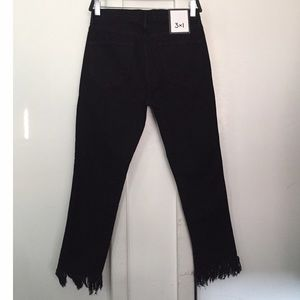 3x1 Jeans - 3x1 WM3 cropped fringe jeans - brand new with tags