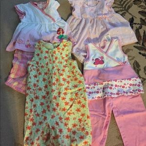 Other - 4 girls outfits. 18 months. EUC