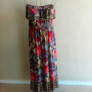Pure Energy colorful dress size 2