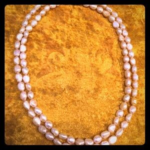 Jewelry - Single strand yellow fresh water pearls