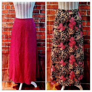 No name Dresses & Skirts - 2 skirts in 1 reversible skirt