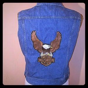 Lee Other - Vintage Harley Davidson vest by Lee