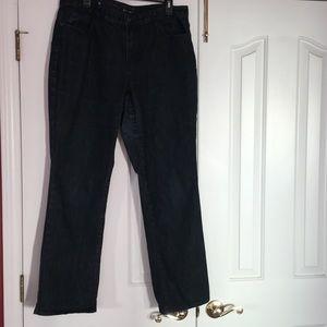 Coldwater Creek Natural Fit dark wash jeans