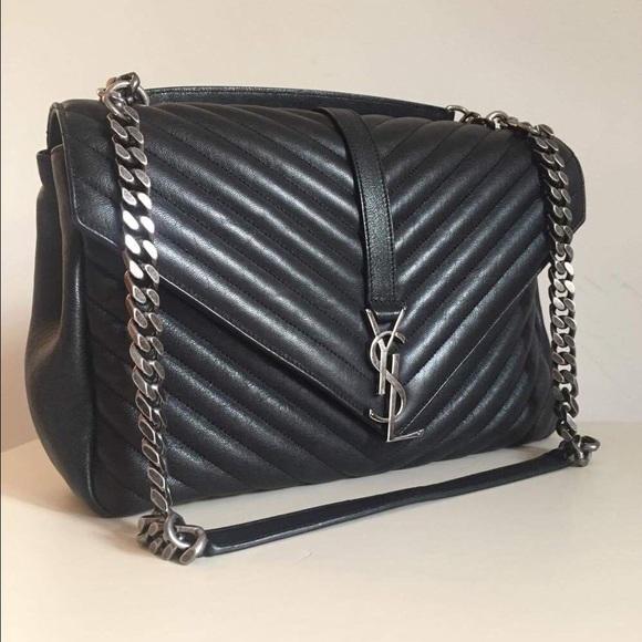 4aef84e36 Saint Laurent Bags | Authentic Ysl College Bag Large | Poshmark