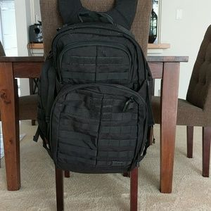 5.11 Tactical Other - 5.11 Rush 72 Black Tactical Backpack
