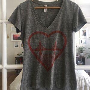 Tops - V Neck San Francisco Tshirt