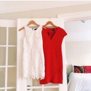 Dresses & Skirts - Red Tulip Hem Dress from Anthro