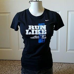 Nike Tops - Black Nike Dri-Fit Running Shirt, fits like S