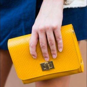 GiGi New York Handbags - Catie Crossbody in Marigold by GiGi New York