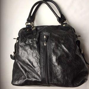 Buxton leather handbag