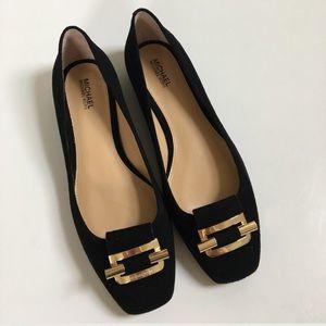MICHAEL Michael Kors Shoes - { Michael Kors } Suede flat ballet shoes ‼️SALE‼️