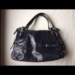 Buxton manmade leather handbag