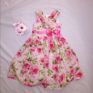 Bonnie Jean Other - 🎊HOST PICK! 🎊PRICE DROP👧GIRLS SIZE 8 DRESS PINK