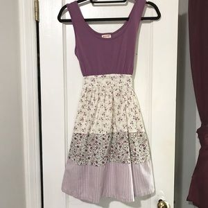 Mossimo Purple Floral Sundress