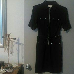 17/21 Exclusive Denim Dresses & Skirts - Michael Kors Black Shirt Dress XS NEVER WORN