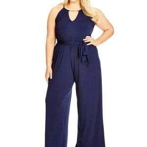 City Chic Pants - City chic jumpsuit(XL)