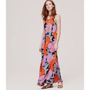 NEW LOFT Full Bloom Maxi Dress