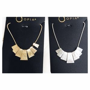 Primark Jewelry - 🖤💙 B U N D L E  of 2 Necklaces - Gold & Silver