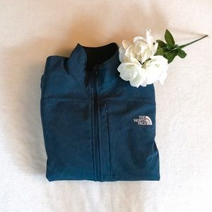 The North Face Jackets & Blazers - Teal Paisley Floral North Face Jacket