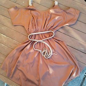 XOXO Dresses & Skirts - XoXo from Macys XS cold shoulder boho dress