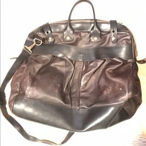rag & bone Other - Rag and Bone Leather Overnight Bag