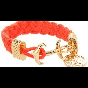Lilly Pulitzer Jewelry - Lilly Pulitzer rope anchor bracelet