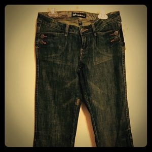 Fox Denim - Fox Distressed Bootcut Jeans NWT