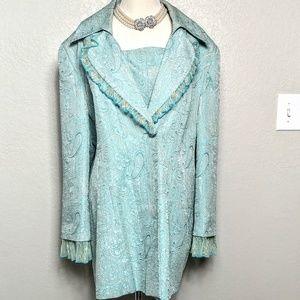 Midnight Velvet Jackets & Blazers - Midnight Velvet Coat