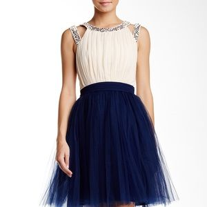 Little Mistress Dresses & Skirts - ⚡️Embellished neck prom dress with tulle skirt