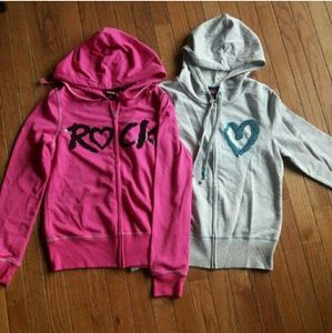 Hard Candy Other - NWOT 2 Hard Candy zip up hoodies