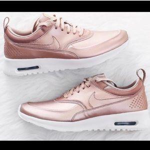 Nike Shoes - Nike Thea Rose Gold